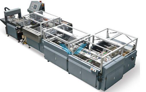 Máy làm bìa cứng tự động QFM 600B 1