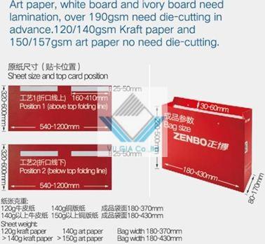 máy dán túi giấy tự động 2