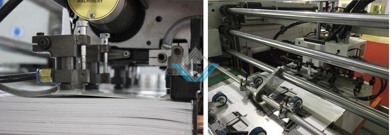 Đầu hút giấy máy cán màng tự động