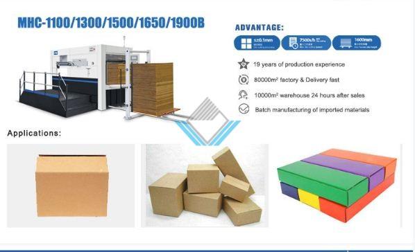 Máy bế thùng Carton bán tự động 3