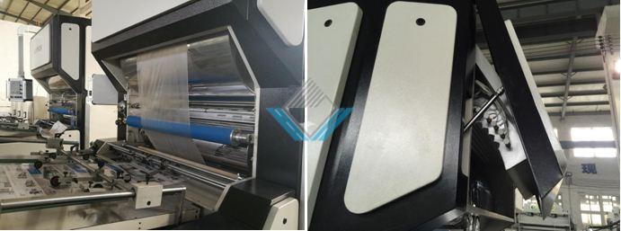 Lò máy cán màng nhiệt tự động