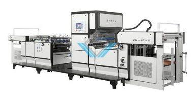Máy cán màng tự động 2 chức năng FM 1050