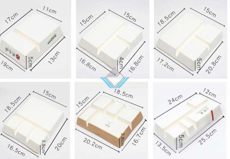 kích thước hộp cơm giấy 3