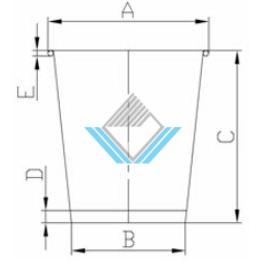 kích thước cốc giấy 5