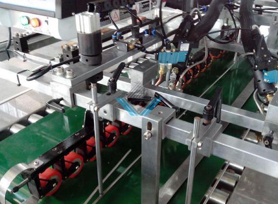 máy dán đáy túi giấy tự động ZB 50B-3