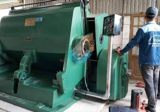 Hình ảnh máy bế ML-1600mm (Bế thùng carton)