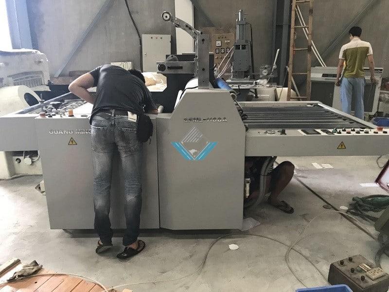 máy cán màng nhiệt 2