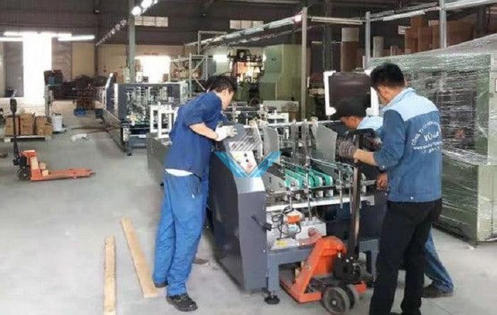 máy dán hộp tự động Yadu 4-1