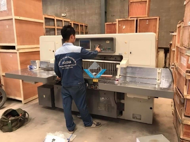 Đơn vị máy cắt xén giấy cũ giá tốt tại Hà Nội, TPHCM