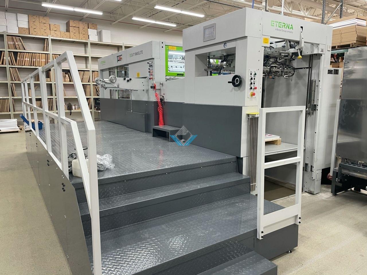 ETERNA Die cutting machine ECUT 1060E